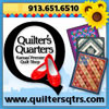 Banner Ad: Quilters Quarters
